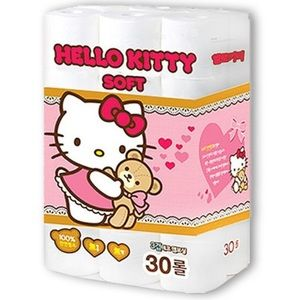 Sanrio Hello Kitty 3Ply 30 Roll Toilet Paper Pack